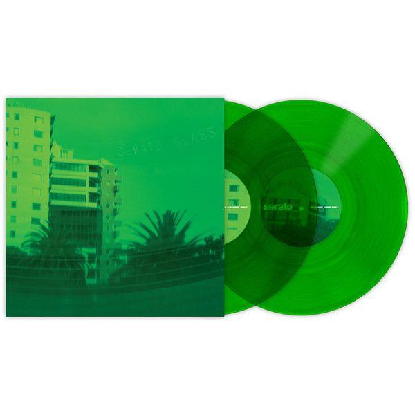 Serato: 10'' Serato Control Vinyl - Green Glass (Pair)