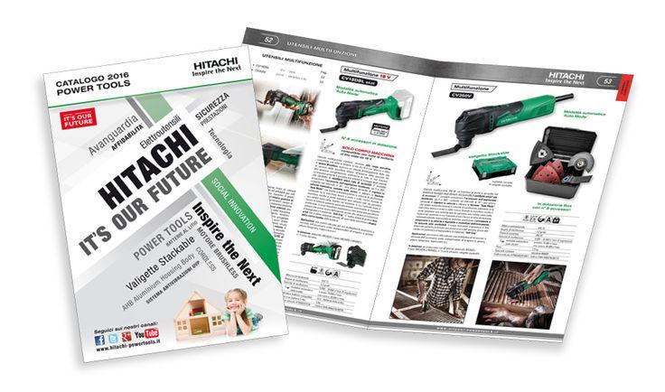 E' on-line il nuovo catalogo 2016 degli elettroutensili Hitachi!  Premi sul link per sfogliarlo: http://www.hitachi-powertools.it/catalogo/Hitachi-powertools2016/index.html