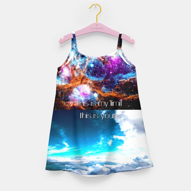One of a kind, girly full print dress! Light and not constraining kid's movements. Perfect as a present, with a print featuring a favourite character, pet or holiday photograph. Stylish and comfortable - no matter how often you wear it, the quality of the print will be the same!Live Heroes guarantees the highest quality of all products purchased. If your order isn't what you expected, feel free to contact our Customer service team. We'll do our best to make you fully satisfied.Est...