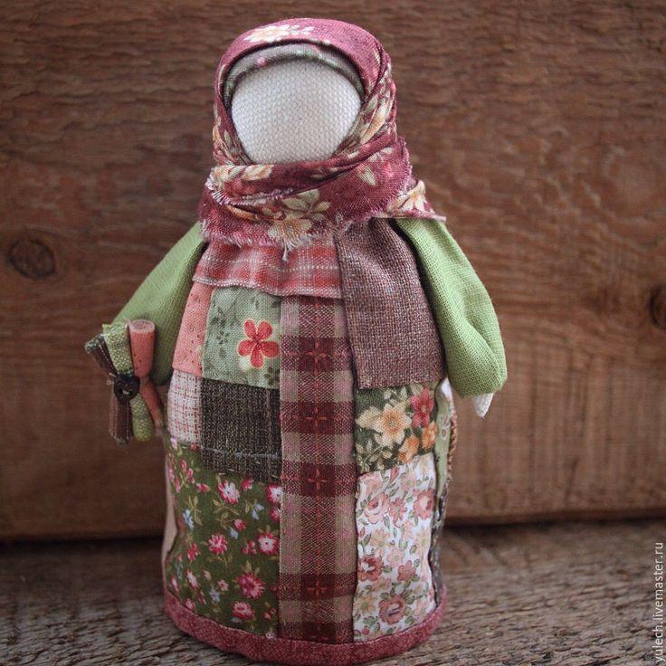 """Купить Народная русская куколка """"Лоскутница"""" - комбинированный, народная кукла…"""
