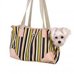 Stylische Hundetragetasche aus Canvas-Baumwolle