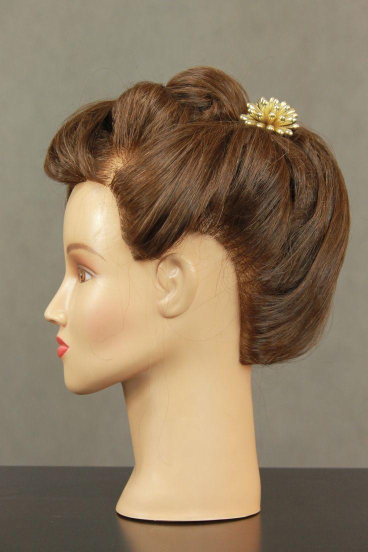 fryzura epokowa - Secesja