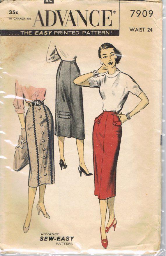23 best Vintage Sewing Patterns images on Pinterest   Vintage sewing ...