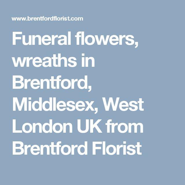 Funeral flowers, wreaths in Brentford, Middlesex, West London UK from Brentford Florist