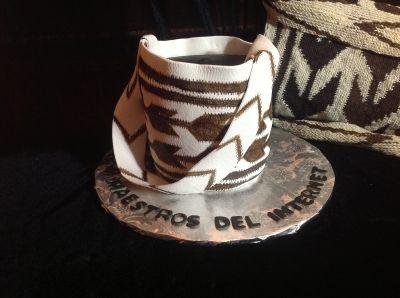 Mochila Arhuaca cake