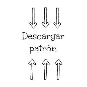 Patrón gratis en español y en inglés de un ratón   Patrón en español  English pattern              Patrón en español (un ratón)    Materiale...