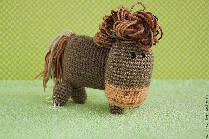 Купить Лошадка вязаная. - лошадь, лошадка, вязаная лошадка, вязаная лошадь, лошадка вязаная