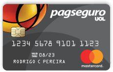 Cartão de Crédito Pré-Pago Internacional Mastercard - PagSeguro