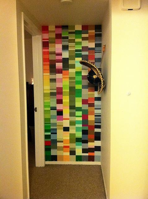 26 best Paint Chip Mosaic images on Pinterest   Paint chips, Mosaics ...
