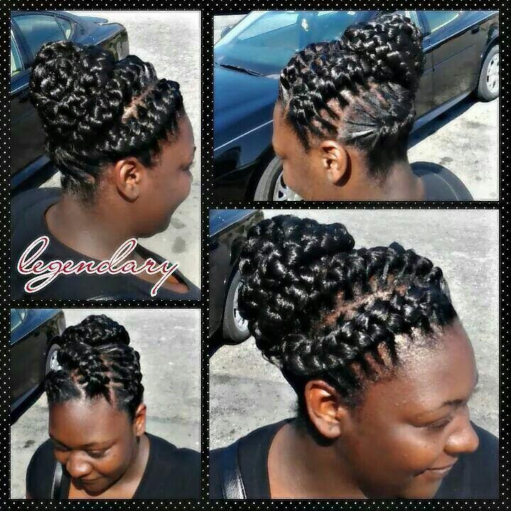 3d Goddess Updo Braids By Legendary Hair Braids Hair
