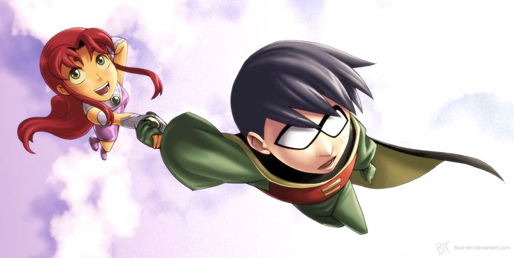 Robin and Star - Flight by Blue-Ten