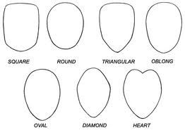 anime face shapes - Google Search
