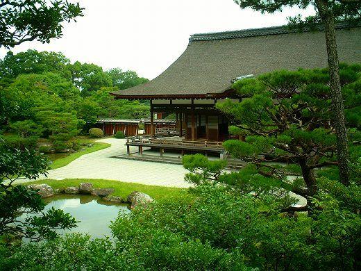 仁和寺、北庭、日本庭園                                                       …