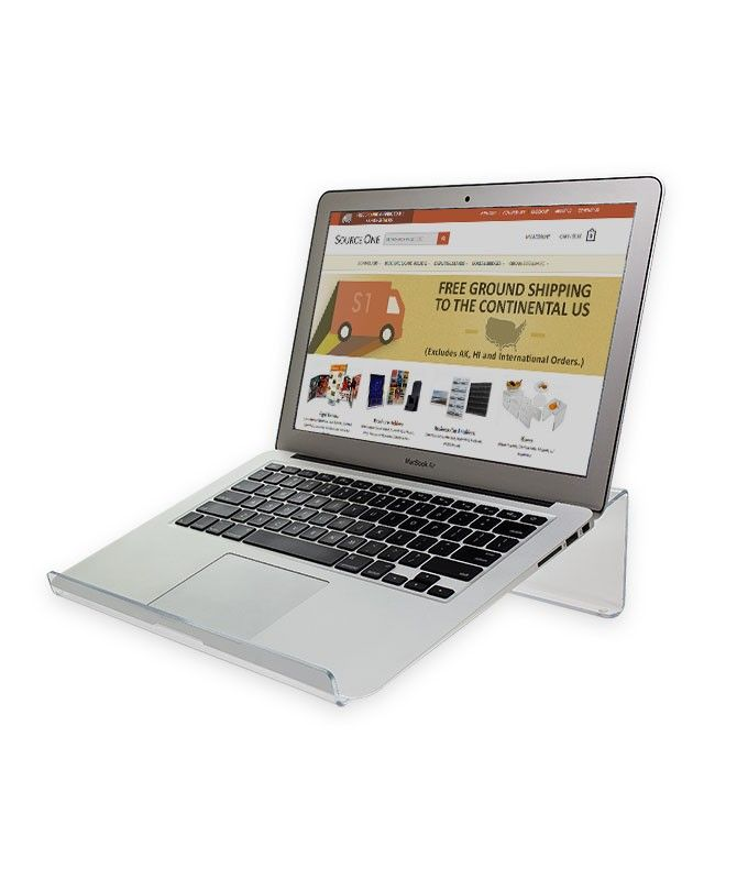 This Laptop Stand Provides A Raised Support For Laptop Computers Up To 17 Inches Use This Laptop Support To Help Reduce Screen Laptop Stand Laptop Supportive