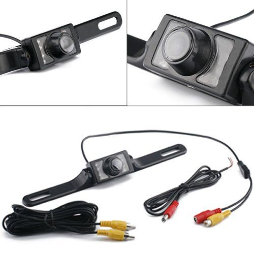 High-definition 170° Rear-view License Plate Back-up and Parallel Parking Camera Universal Waterproof Color