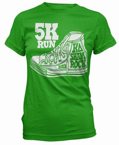 Kappa Delta Shamrock 5K T-shirt