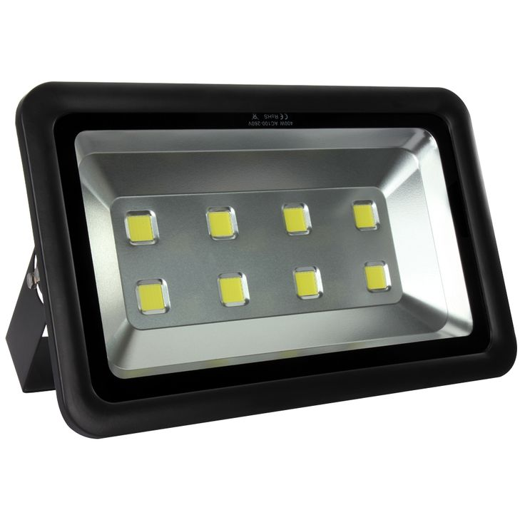 1pcs 400W LED Flood Light Waterproof IP65 Warm/Cold White Floodlight Projection Lamp Home Garden Outdoor Lighting