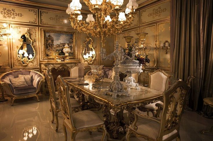 15 Amazing Luxury Dining Room Furniture Sets Ideas