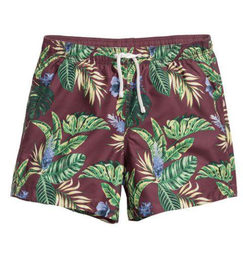 Patterned swim shorts ($17.99) by H&M, hm.com