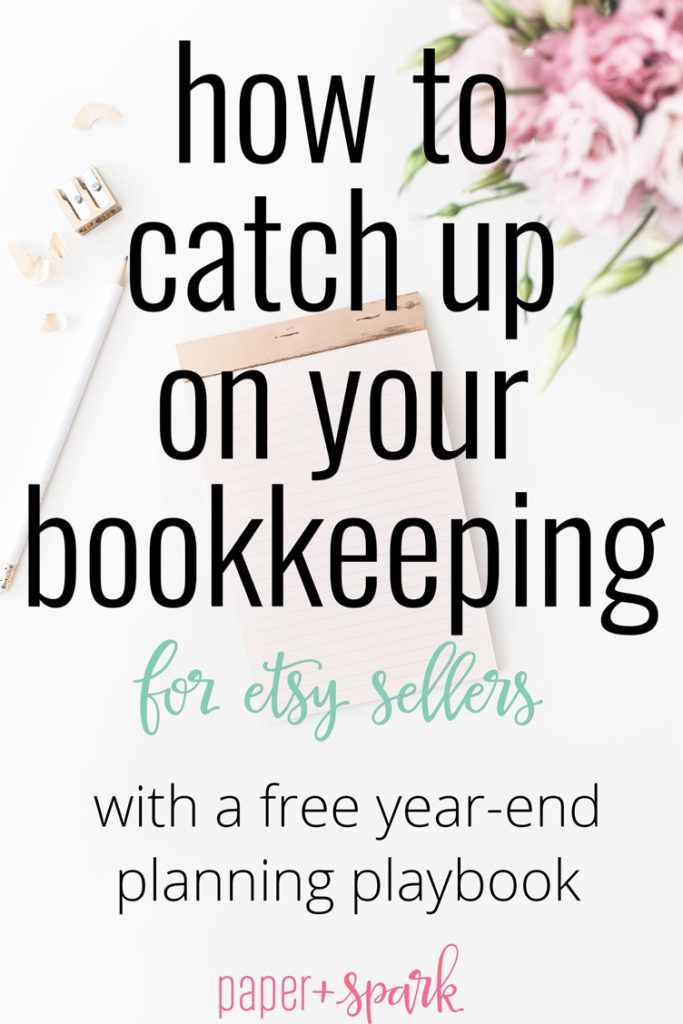 19 best bookkeeping tips images on pinterest best bank accounts how to catch up on your bookkeeping for etsy sellers fandeluxe