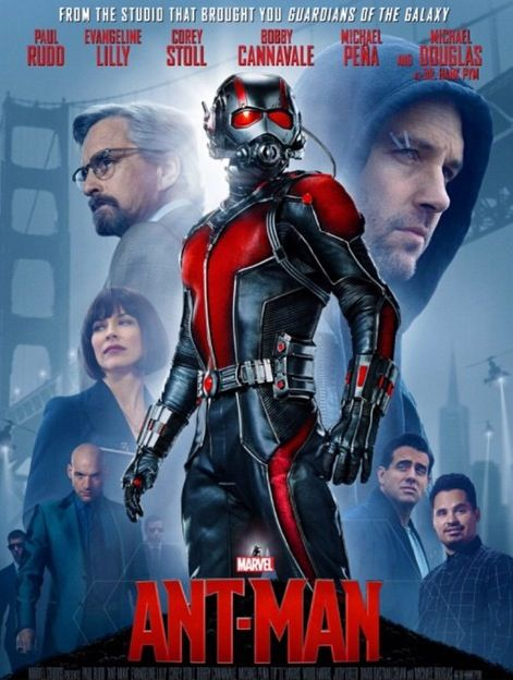 Ant-Man looking forward to see this one.