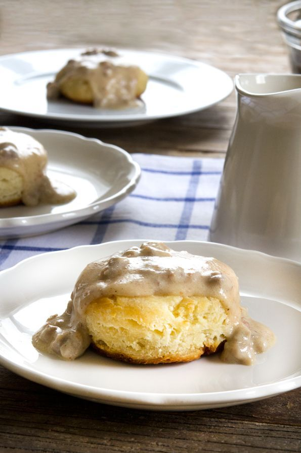 Gluten Free Sausage Biscuits and Gravy - Gluten Free on a Shoestring