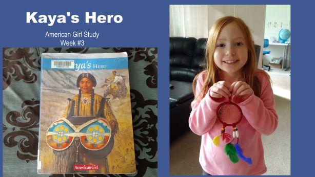 American Girl unit study - Kaya week 3