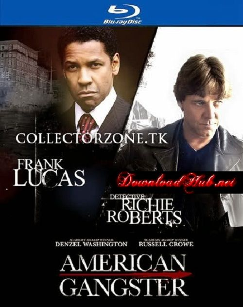 Poster Of American Gangster (2007) In Hindi English Dual Audio 300MB Compressed Small Size Pc Movie Free Download Only At downloadhub.net
