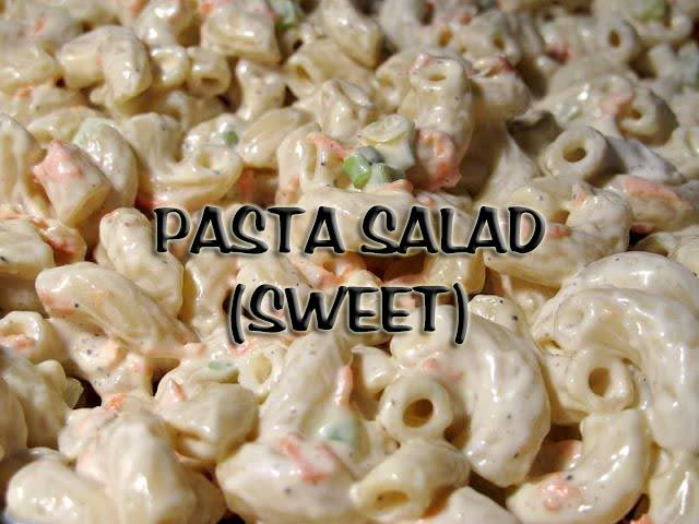 South African Recipes | PASTA SALAD (SWEET)