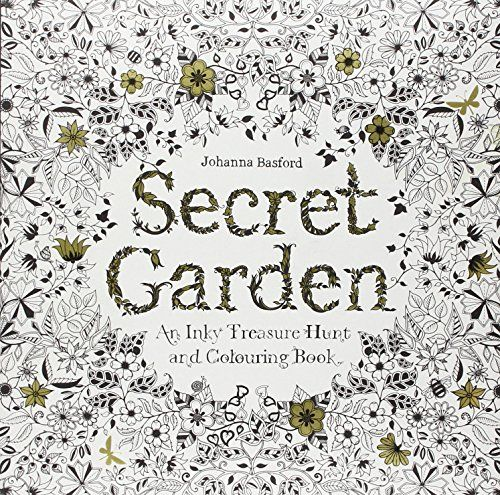 Secret Garden: An Inky Treasure Hunt and Coloring Book - Johanna Basford. Shopswell | Shopping smarter together.™