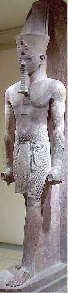Amenhotep III, also known as Amenhotep the Magnificent, was the ninth pharaoh of the 18th dynasty.  According to different authors, he ruled Egypt from June 1386 to 1349 BC or June 1388 BC to Dec 1351 BC/1350 BC after his father Thutmose IV died. Amenhotep III was the son of Thutmose by a minor wife Mutemwiya.