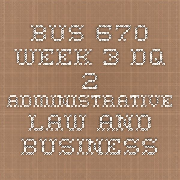 bus 670 final paper The outline must contain all major sections that will exist in the final paper c the outline must be accompanied by a reference page that includes at least 10 scholarly bus 670 week 5 individual assignment anti-discrimination laws related to employment (ash course.