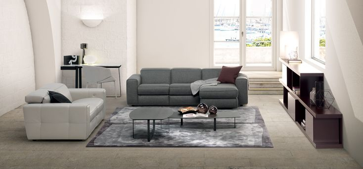 The Brio's ideal proportions and aesthetic detailing draws its inspiration from the harmony present in all music. Evidence of the maker's attention to detail is evident in every luxurious stitch on these contemporary sofas.  #ItalianDesignerFurniture #ItalianLuxurySofas