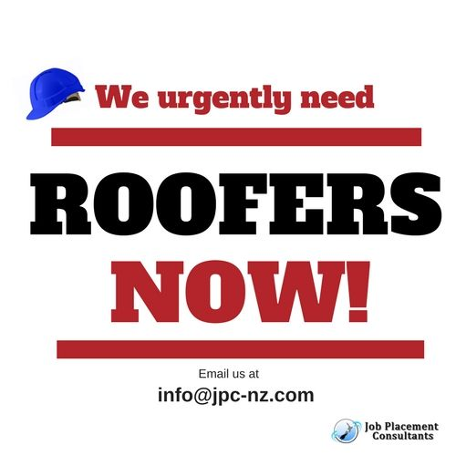 Our well-established clients in Auckland and Hamilton, are looking to employ experienced roofers to install Commercial/Residential long run roof & waterproofing membranes. If you are a qualified or experienced metal roofer with a great work ethic then this could be just the role for you! https://www.facebook.com/jobplacementconsultantsltd/photos/a.425007967562781.98663.410240482372863/1354509967945905/?type=3