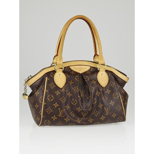 Pre-owned Louis Vuitton Monogram Canvas Tivoli PM Bag (2,770 ILS) ❤ liked on Polyvore featuring bags, handbags, tote bags, louis vuitton tote bag, louis vuitton purse, zipper tote, monogrammed canvas tote bags and zippered canvas tote