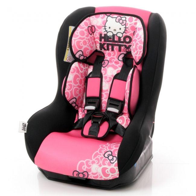 Hello kitty autostoeltje SAFETY PLUS NT is een autostoeltje voor gebruik vanaf de geboorte tot ca. 4 jaar. Goedgekeurd volgens ECE R44/00. -