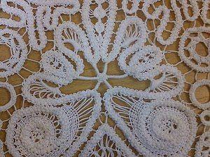 Romanian Point Lace crochet tutorial for a bolero