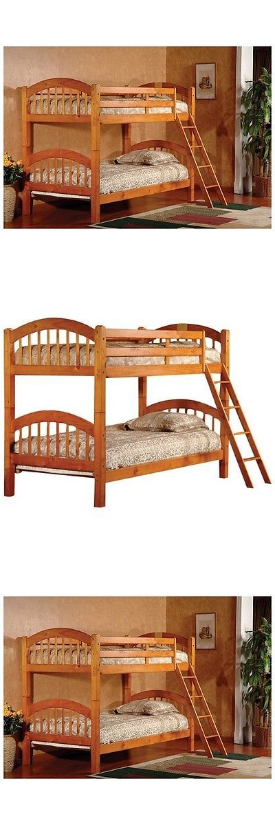 1000 ideas about solid wood bunk beds on pinterest kids - Solid wood youth bedroom furniture ...