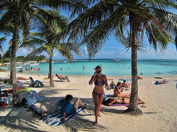 Akumal Beach, Yucatan Mexico. Caribbean life!