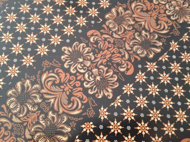 Gift paper-indonesian batik- truntum buket