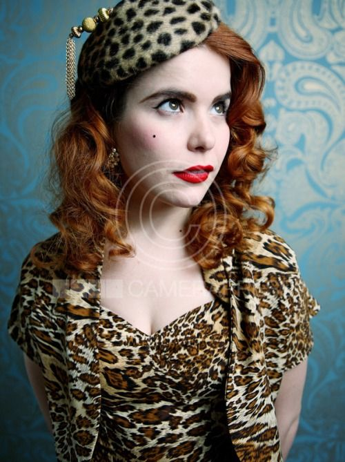 Paloma Faith in our Soft Leopard Sarong dress looking as fabulous as ever! http://www.vivienofholloway.com/ #VivienofHolloway #VivienHolloway #VoH #Vintagereproduction #madeinlondon #1950sstyle #1950sfashion #1950s #1950sglamour #pinupgirl #pinup #rockabilly #rockabillygirl #rockabillyclothing #pinupfashion #1940ssarongdress #sarongdress #leopard #leoparddress #rockabillyleoparddress