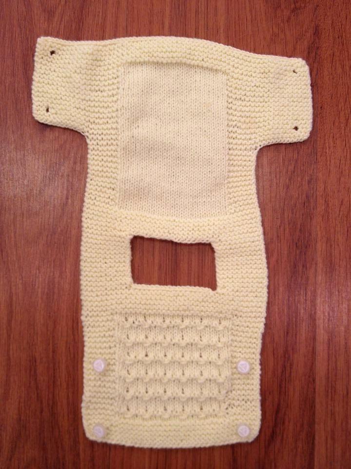 Bebek Yeleği yapımı | Derya Baykal Örgüleri