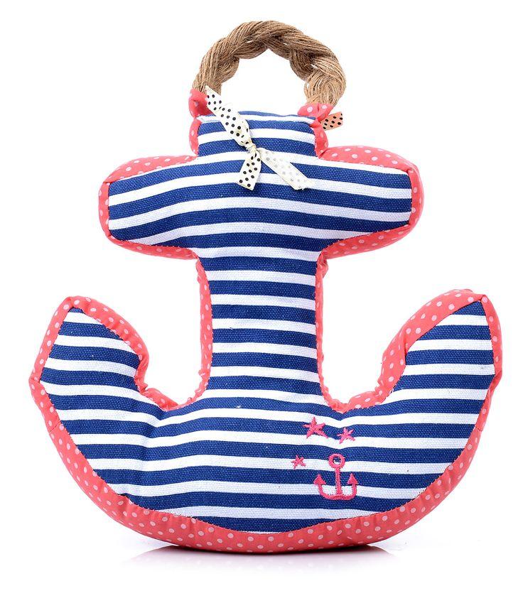 Hello Sailor Striped Anchor Door Stop #uniquevintage