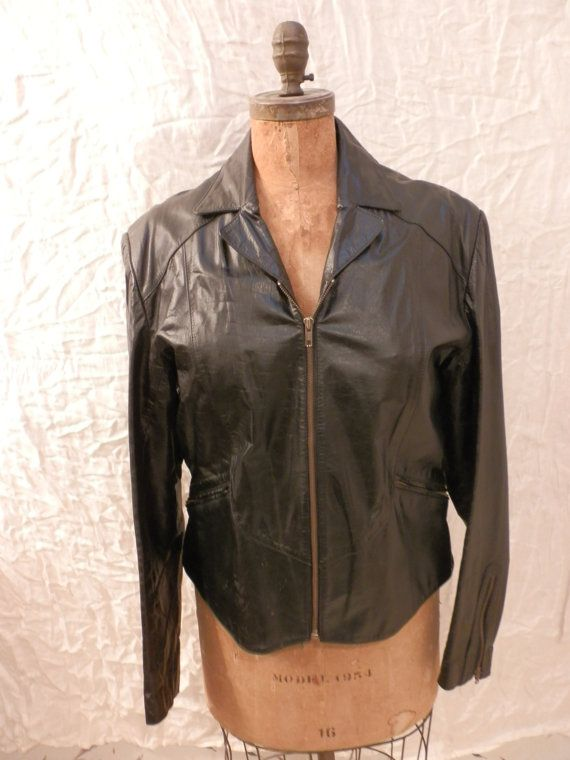 Vintage Mens and Womens Zipper Front Jacket by Twopeasinapod123, $55.00