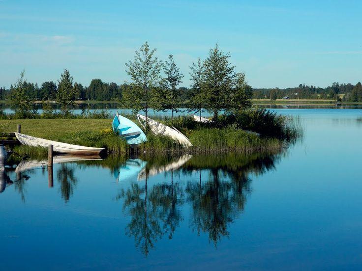 Kuhajärvi lake. Kuortane Finland.