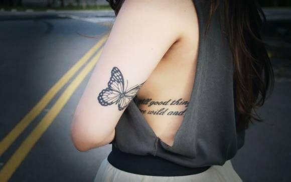 Tattoos de frases para se inspirar! - Você - CAPRICHO