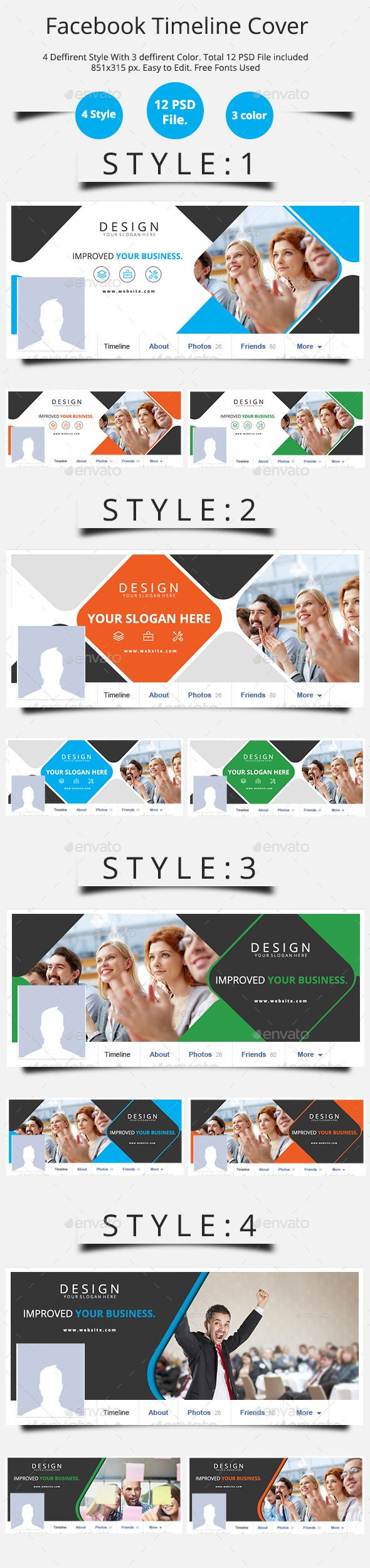 Facebook Timeline Cover- Corporate - Facebook Timeline Covers Social Media