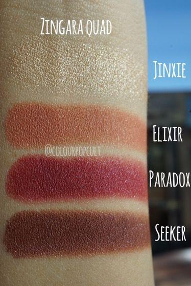 Colour Pop Zingara Quad
