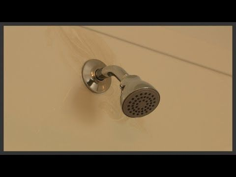 shower extension arm flange and head replacement youtube