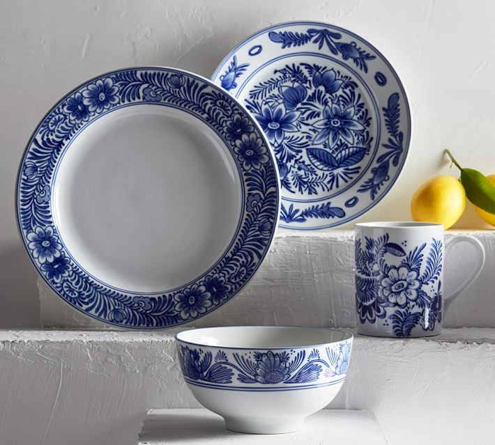 Pottery Barn Blue Kitchen Set: 171 Best Images About Coastal Dining Room Ideas On